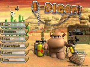 I-Digger Portable Game