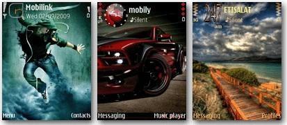 3 تم جديد موبايل نوكيا سري 60 ورژن 3 - Nokia S 60v3 Theme