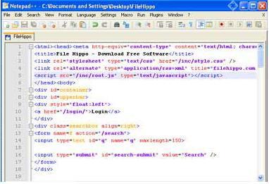 Notepad++ 5.6 – دفترچه یادداشت همه کاره برنامه نویسی | نرم افزار ...تغییر رنگ کد های برنامه نویسی و دندانه نویسی آن ها